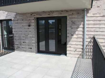 Erstbezug: 3-Zimmer-DACH-Terrassenwohnung mit EBK in Stadtpark Nähe