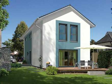 Haus mit Bodenplatte fast fertig ! KFW 55 uvm.