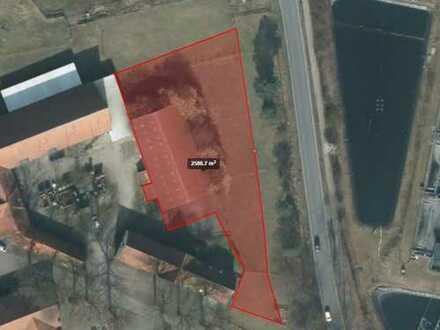 Gewerbegrundstück mit 496m² ehemalige Reithalle in Windelsbleiche/Auffahrt A33