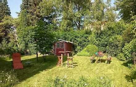20 qm Schlafzimmer + Wohnküche + Bad + Garten fast zur Alleinnutzung
