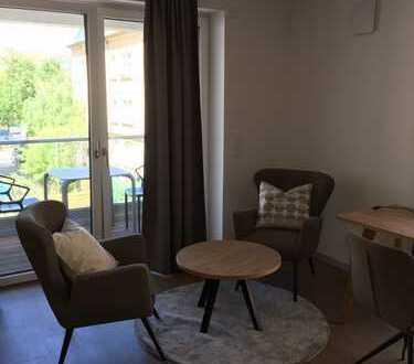Voll ausgestattetes Apartment mit Gym, Lounge, Dachterrasse (55 m²) in TU-Nähe -ERSTBEZUG-