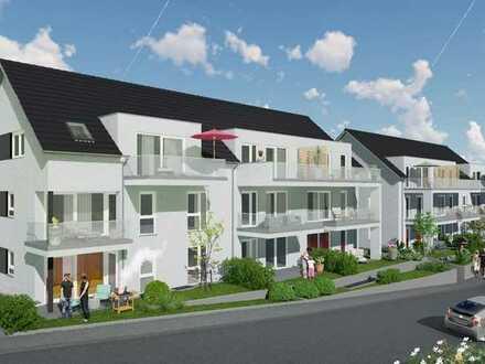 Neubau: 2-Zimmer-Eigentumswohnung im 1. Obergeschoss mit Balkon