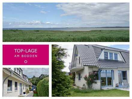 Boddenblick – Schöne Doppelhaushälfte in der ersten Reihe