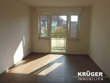 KA-Weiherfeld / gemütliche 2-Zimmer-Wohnung mit Balkon / ab sofort bezugsfrei!