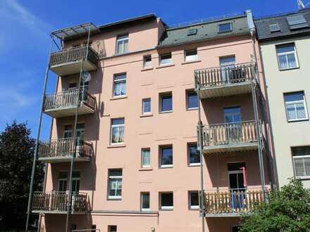 Singlewohnung mit sonniger Terrasse in Plauen zu verkaufen!