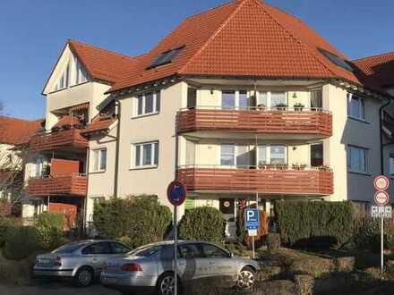 Vermietete 2-Zi. Wohnung über 2 Etagen mit BALKON