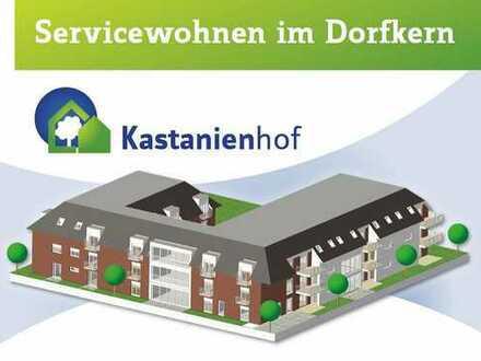 Erstbezug - 58,96 m² - Seniorengerechte u. barrierearme Wohnung mit Terrasse/Balkon