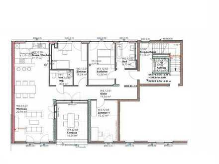 Erstbezug! 4 Zimmer-Wohnung im Zentrum von Merzhausen