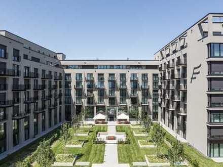 Neuwertige 1-Zimmer-Wohnung mit Einbauküche in Moosach, München