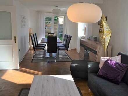 Schöne, sanierte/modernisierte Doppelhaushälfte mit Garten zum Kauf