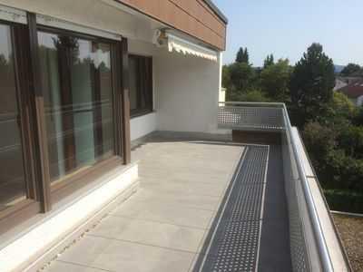 Schöne, ruhige Penthouse-Wohnung über den Dächern von Backnang