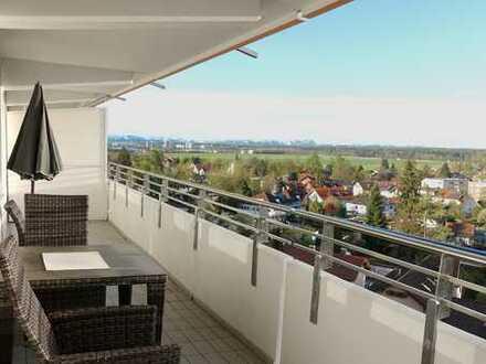 Helle 3-Zimmer-Wohnung mit Alpenblick