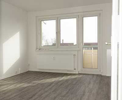 Renovierte 3-Raumwohnung mit Südbalkon