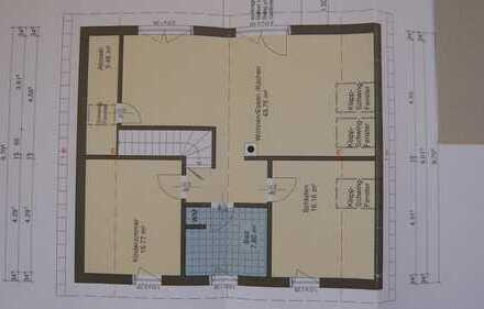 Neuwertige 3-Zimmer-DG-Wohnung mit Balkon und Einbauküche in Deggingen