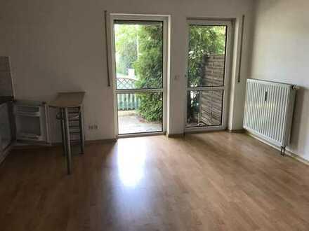 Schöne 1-Zimmer-Wohnung mit Terrasse ab 01.11.18 zu vermieten