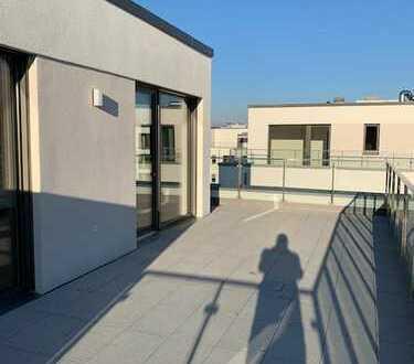 Exklusive 3-Zimmer-Penthouse-Wohnung mit Einbauküche in Mainz