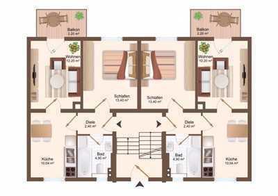 Erstbezug nach Sanierung - Schöne zwei Zimmer Wohnung in Leipzig-Wahren