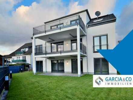 Wohnen ohne Stufen mit großem Balkon
