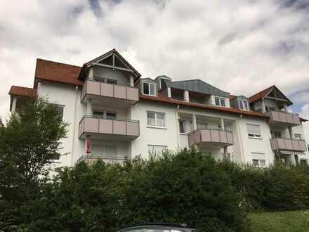 TOP ! 2-Zi.-DG-Whg., (Bj. 92), m. Balkon und 2 Stellpl. in Blaustein (Nelly-Sachs-Str.)