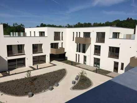 moderne 3,5-Zimmer-Penthouse-Wohnung mit Dachterrasse und EBK in Bestlage in Kempten