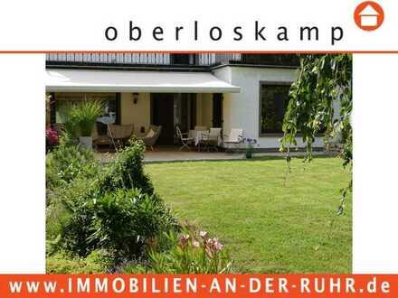 Traumhafte Villa mit hochwertigem Inventar in ruhrnaher Lage mit Sonnenterrasse und tollem Garten