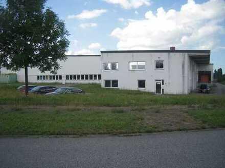 Produktionshalle m. Büroteil zur Verpachtung (Kauf des Gebäudes inkl. oder exkl. PV-Anlage möglich)