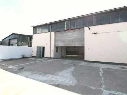 2 Hallen für versch. KFZ-Betriebe, auch einzeln privat zu vermieten