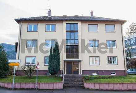 Naturnah und zentral: Bezugsfreie 3-Zi.-ETW mit großem Balkon und zusätzl. Dachzimmer in Waldkirch