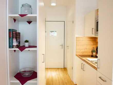 Komplett möblierte Wohnung 20m² zu vermieten