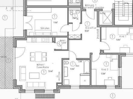4 Zimmer Erdgeschosswohnung mit einem Tiefgaragenstellplatz und einem Stellplatz (Wohnung 1)