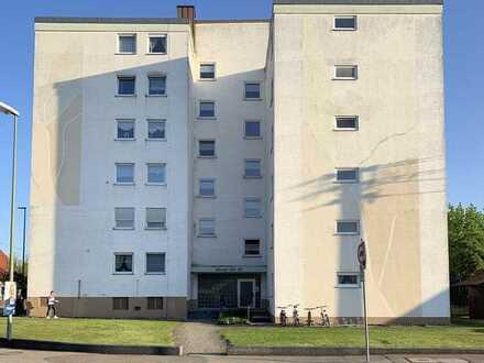 Gepflegte 3 Zimmer Wohnung mit Balkon und Garten