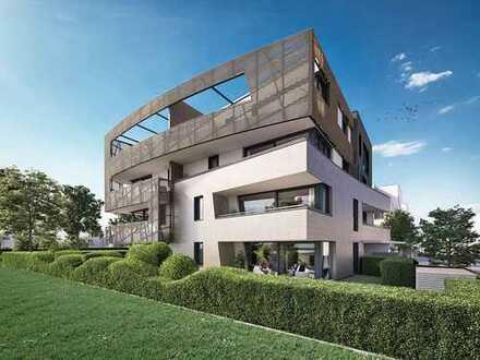 Urbanes Penthouse mit 4 Zimmern und hervorragender Ausstattung in naturnaher Lage
