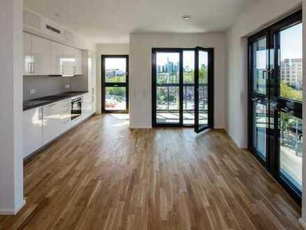 Singles' Liebling: Studio-Apartment mit Loggia – im Hafenpark Quartier
