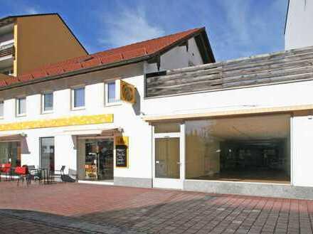 Helles und geräumiges Ladengeschäft in Top-Lage von Buchloe