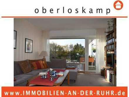 Gepflegte, helle, TOP-Level 3-Zi.-Whg. mit Balkon, Gäste-WC und Garage im Dichterviertel