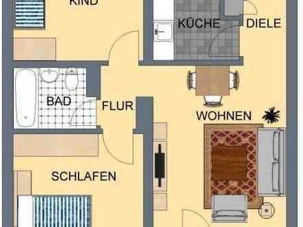 *Junges Wohnen; Attraktive 64 m² Whg mit Loggia direkt am Marktplatz*