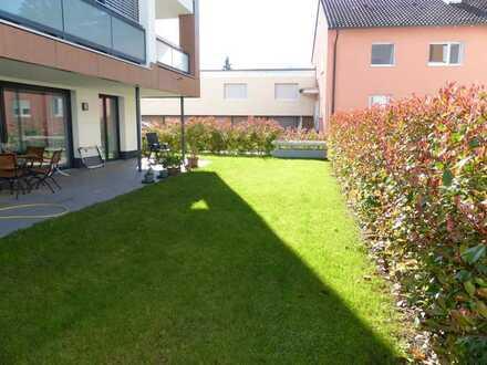 Erdgeschosswohnung mit 244 m² Garten