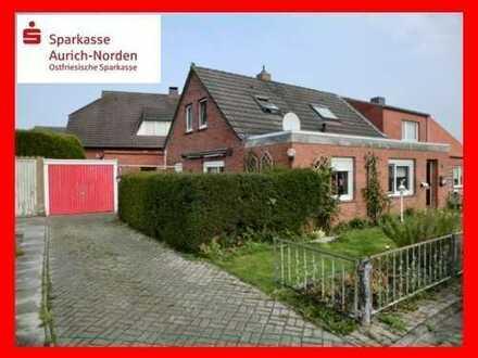Doppelhaushälfte in schöner Lage von Hinte - Westerhusen