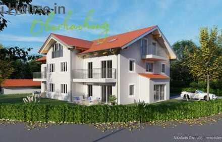 *Zu Hause in Oberhaching*  Neubau/Erstbezug 4-Zimmer-Etagenwohnung mit großem Westbalkon