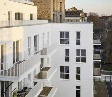 Wunderschöner Blick zur Weißen Elster - 3 Zimmer mit offener Einbauküche & Balkon