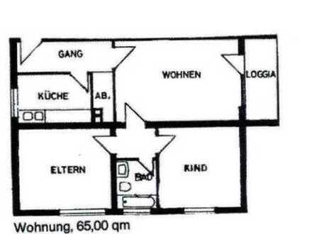 Kapitalanlage: Vermietete Wohnung im Soester Süden zu verkaufen