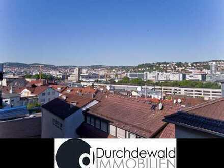 Sanierte 3-Zimmer Wohnung mit Balkon und schönem Blick