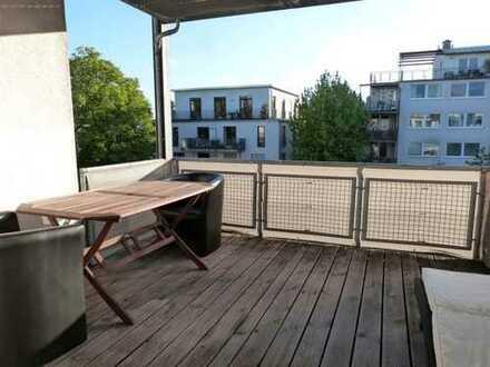 Helle 2 Zimmerwohnung mit großem Balkon im Kunst- und Medienviertel von Hürth Efferen