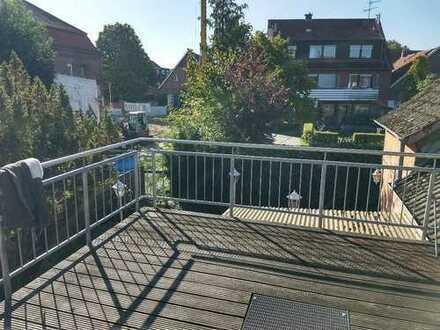 Schöne 3,5-Zimmer-Wohnung mit Südterasse und Einbauküche in Münster Wolbeck