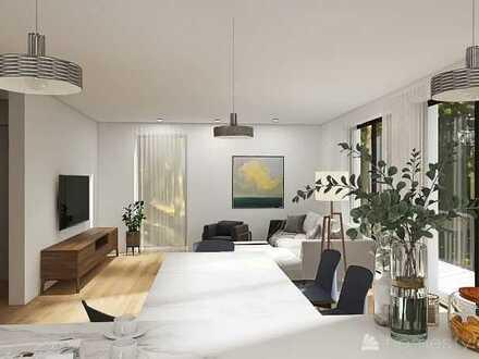 Erstbezug: exklusive 5-Zimmer-Maisonette Wohnung mit Balkon in Roßdorf