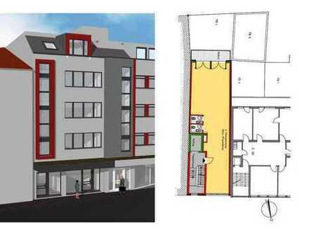 2. OG Praxis-/Bürofläche in Wohn-/Geschäftshaus Hauptstr. 110 in Sinsheim