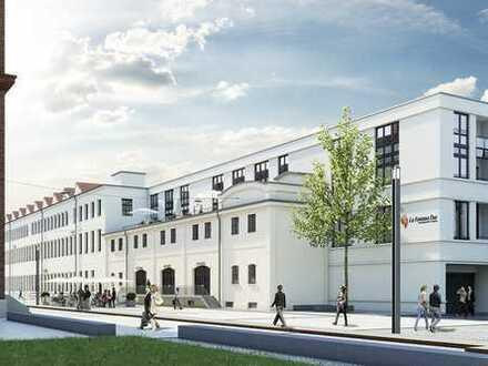 EINZIGARTIGE PRÄMIUMFLÄCHE - mit Denkmal-AfA an der neuen Flaniermeile im Kammgarnquartier!