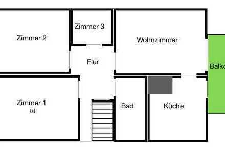 Schöne, helle 3,5-Zimmer-DG-Wohnung in Telgte
