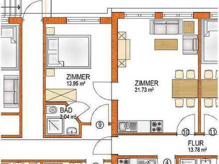 2-Zimmer-Appartment (Arbeiterunterkunft) in Königsbrunn