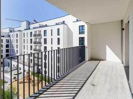 Entfalten mit neuen Freiheiten: Große 1-Zimmer-Wohnung mit genialer Sonnenterrasse
